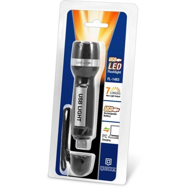 Rechargeable USB LED Flashlight