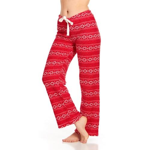 Women's Super-Soft Plush Fleece Pajama Lounge Pants- Multiple Styles