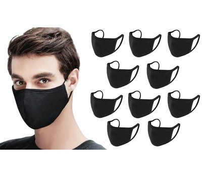 10-Pack Reusable and Washable Cotton Breathable Face Mask Was: $78 Now: $22.49.