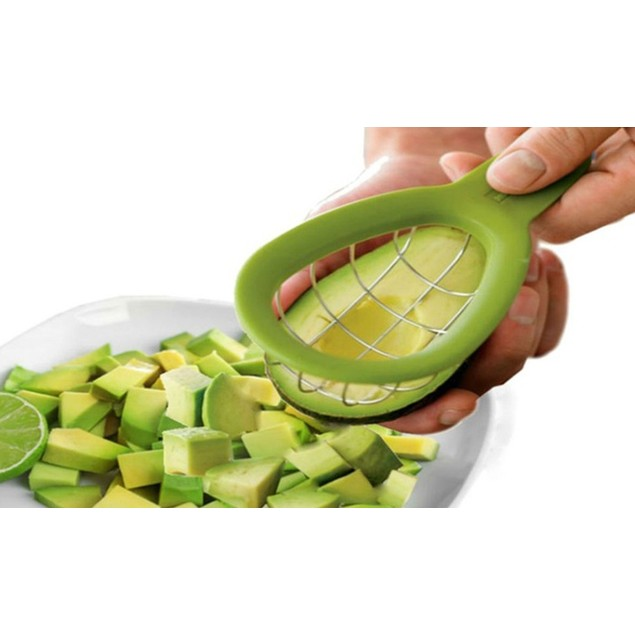 Perfect Avocado Slicer and Cuber