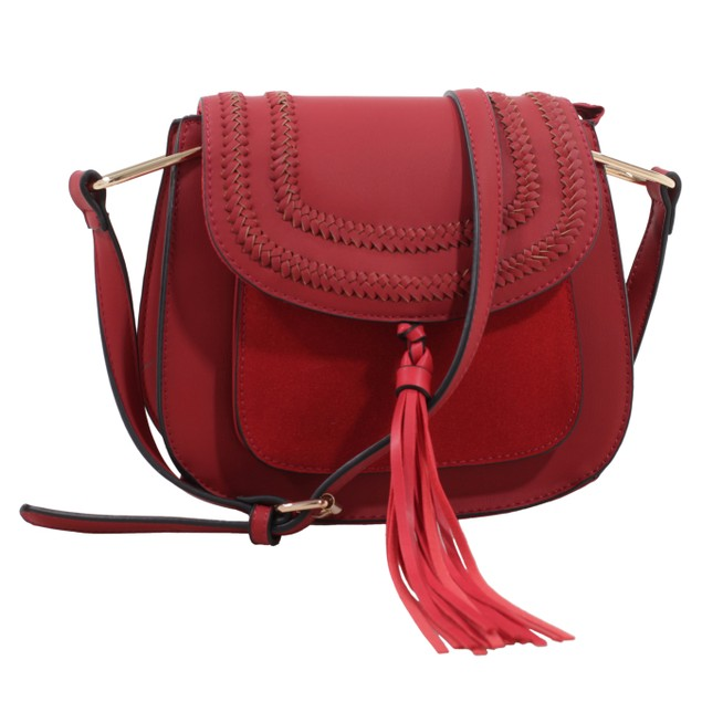 MKF Collection Riga Celebrity Style Saddle Bag
