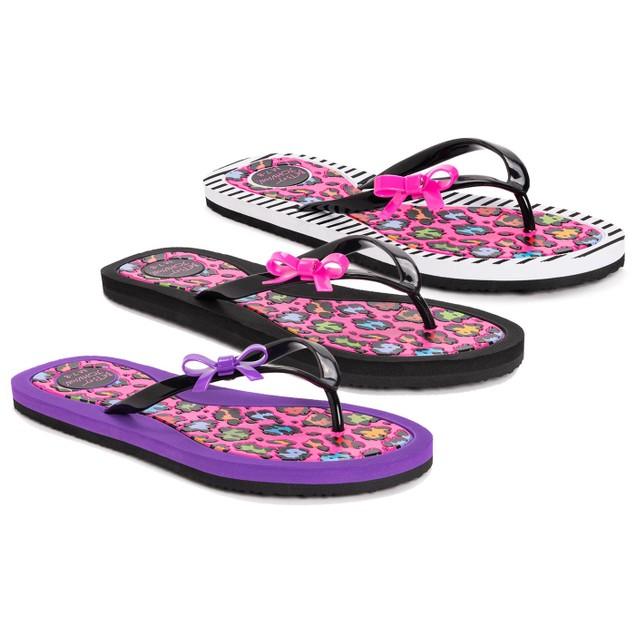 Betsey Johnson® Women's Leopard Flip Flops