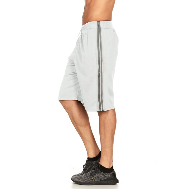 Mens Workout Active Performance Athletic Shorts with Pockets (S-3X)