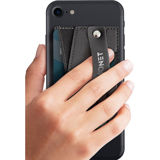 MONET Slim Wallet with Expanding Stand and Grip for Smartphones - 4 Colors