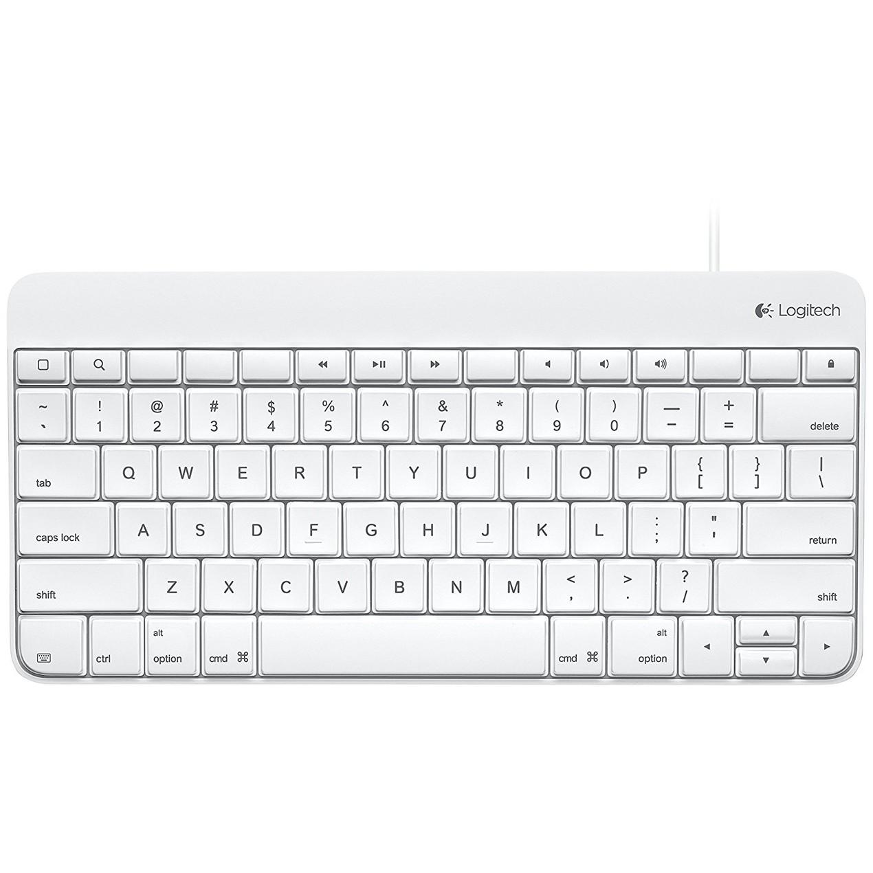 Logitech Wired Keyboard for iPad 1/2/3 - 920-006340 - Tanga