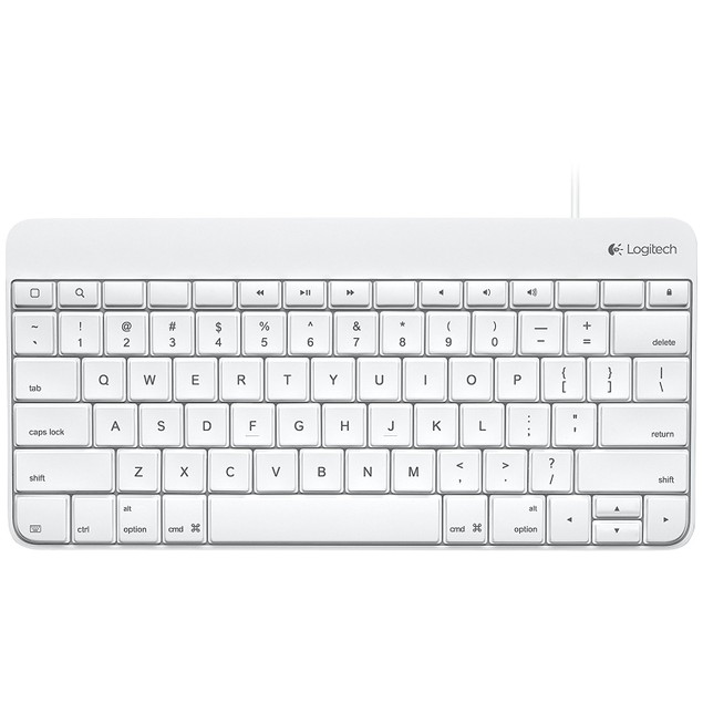 Logitech Wired Keyboard for iPad 1/2/3 - 920-006340