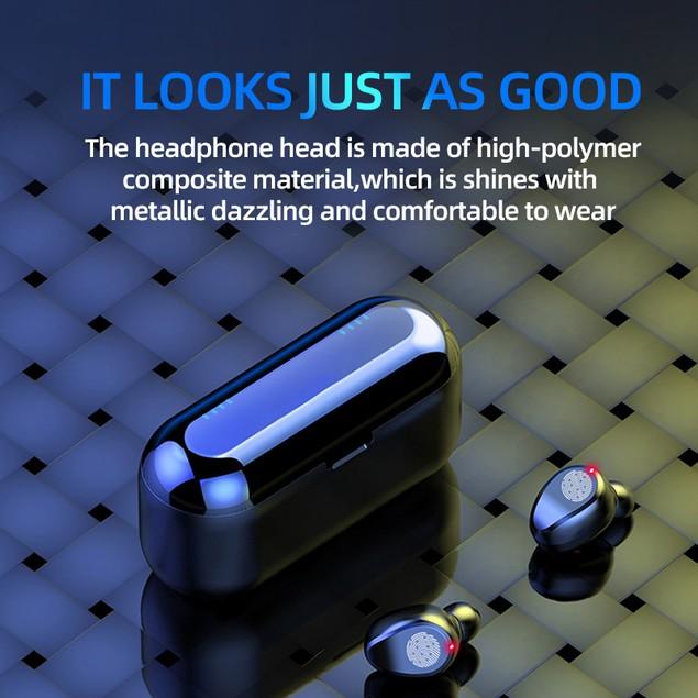 Bluetooth 5.0 Headset TWS Wireless Earphones Mini Earbuds Stereo Headphones