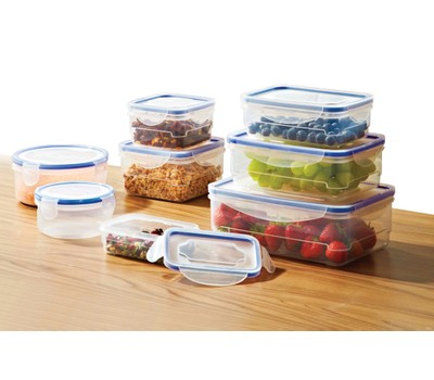 Food Storage Containers- 16 or 32 Piece Set Was: $39.99 Now: $16.99.