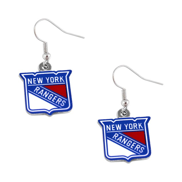 NHL Sports Team Dangle Logo Earring Set Charm Gift