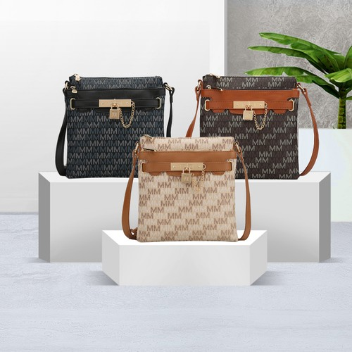 MKF Collection Gia M Signature Crossbody Bag by Mia K