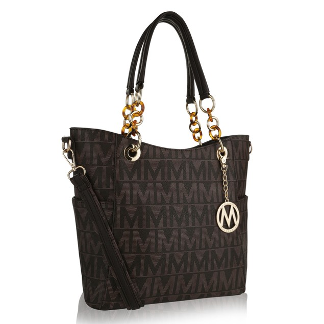 MKF Collection Kissaten Milan M Signature Tote by Mia K.