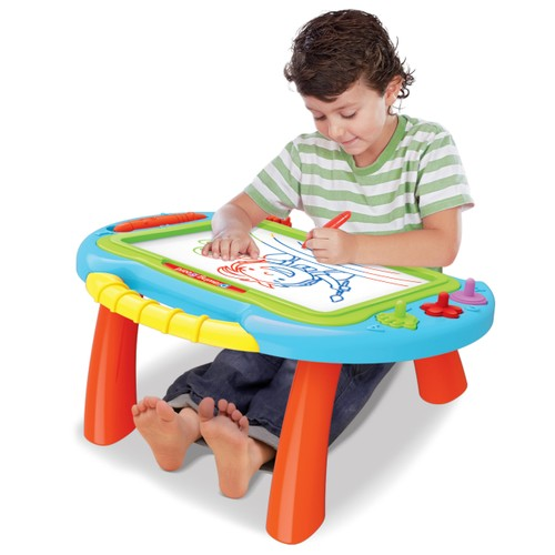 Color 2-in-1 Magnetic Sketch Board Table