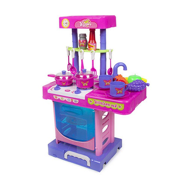 Glamour Girlz Kitchen Playset