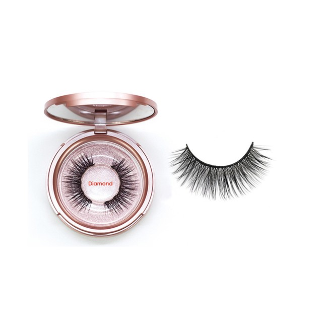Magnetic Eyeliner with 3D Magnetic Eyelashes & Tweezers Waterproof Kit
