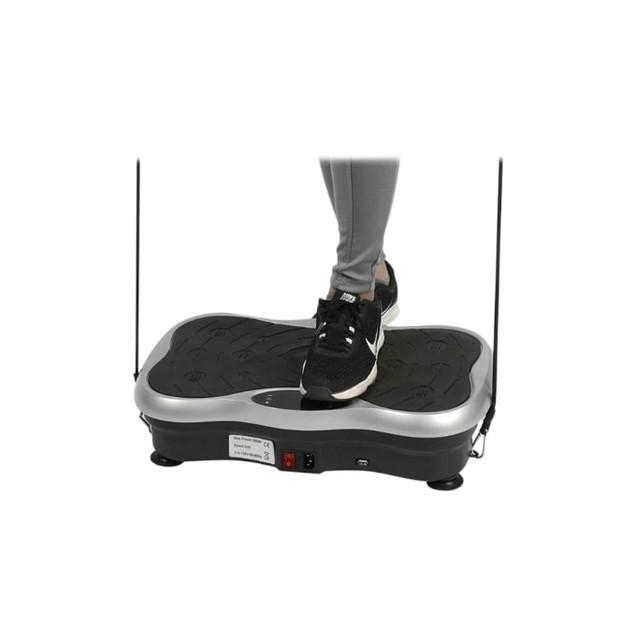 Vivaspa Full Body Vibration Machine w/Bluetooth Speaker & Resistance Bands
