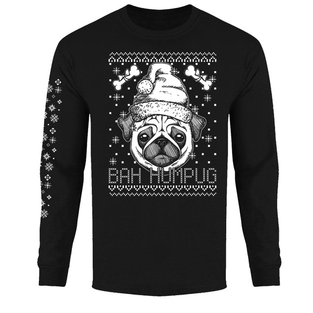 Men's Funny Ugly Christmas Sweater Long Sleeve Shirts