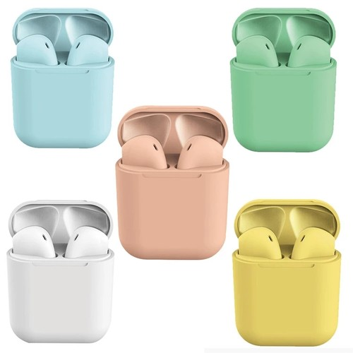 Clear-Sound Touch Control Wireless Earbuds - 8 Colors