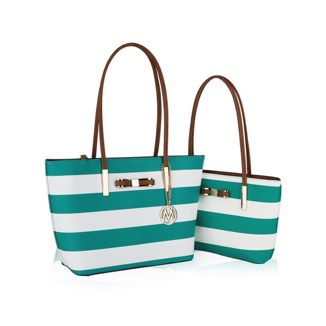 MKF Collection Reine 2PC Tote Set Bag by Mia K.