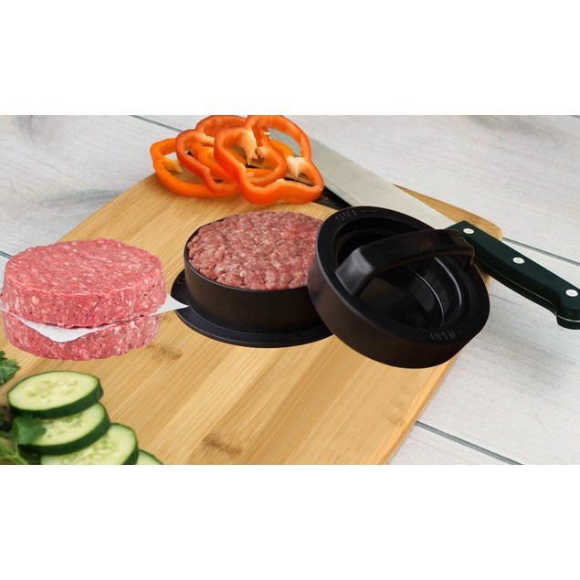 3-in-1 Hamburger and Slider Press Set