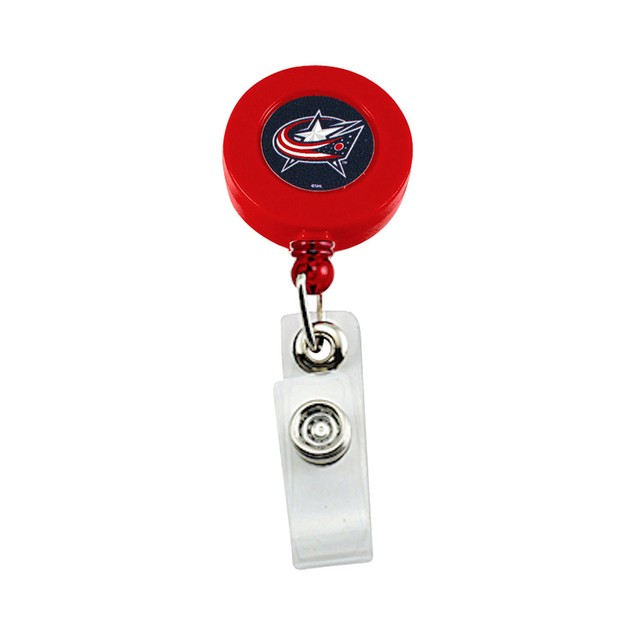 NHL Sports Team Retractable Badge Reel Id Ticket Clip