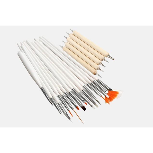 20-Piece Nail Art Tool Set