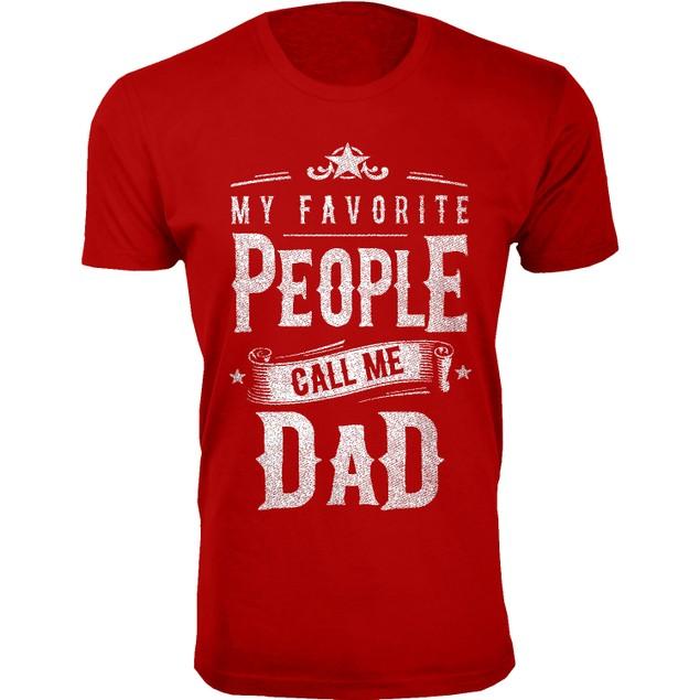 Men's Dad Grandpa My Favorite People Call Me T-Shirts - Dad