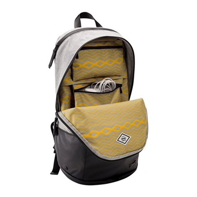 """Targus Opin Maker Leather & Cloth Backpack for Laptops up to 15"""""""