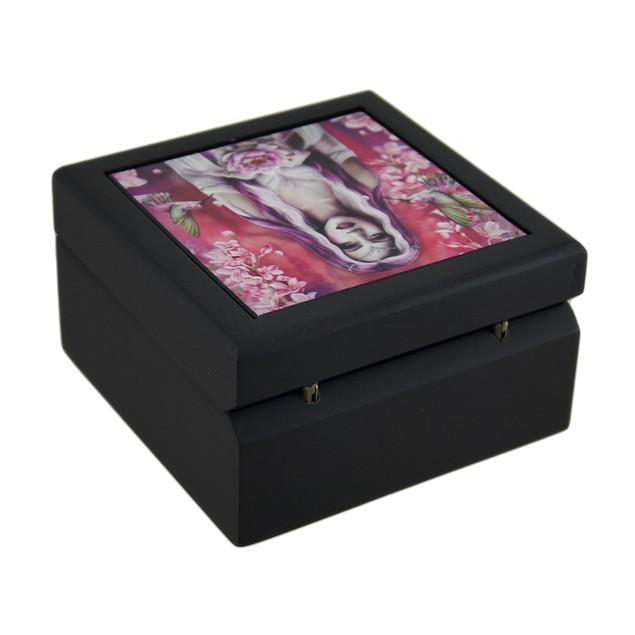 Lisa Parker 'Elora's Enchantment' Decorative Art Decorative Boxes