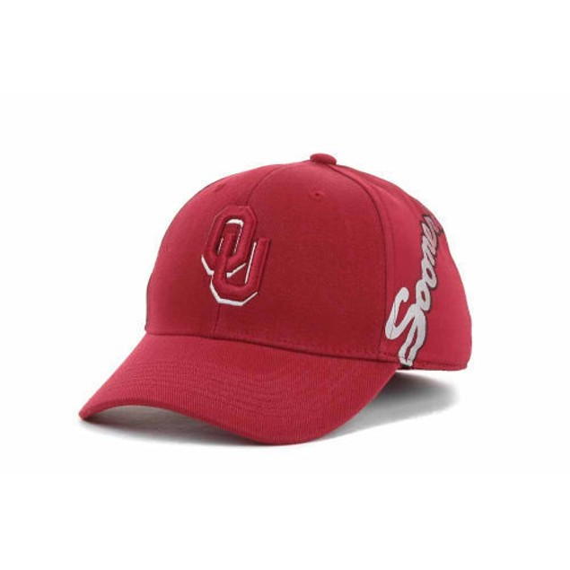 "Oklahoma Sooners NCAA TOW ""Deja Vu"" Stretch Fitted Hat"