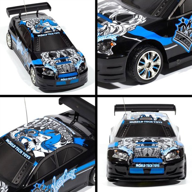 Licensed West Coast Customs Black Tuner Style