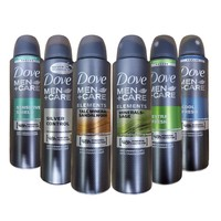 6-Pack Dove Men+Care Dry Spray Antiperspirant Deodorant 150 ML