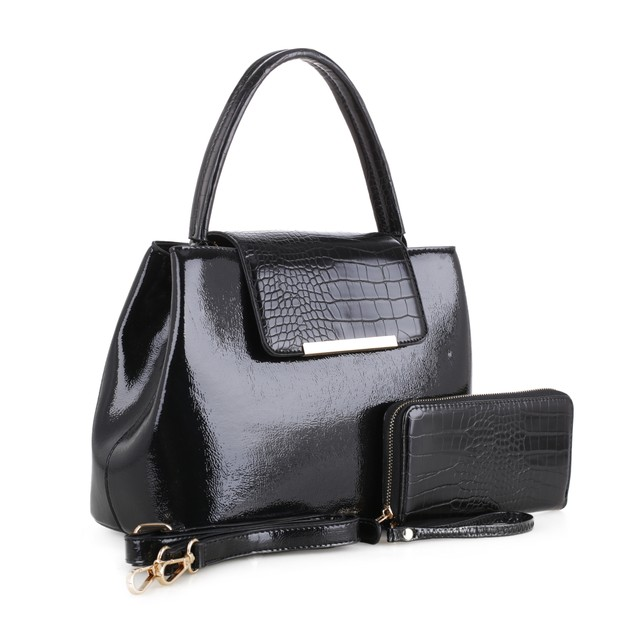 MKF Collection Edith Satchel with Wallet by Mia K.