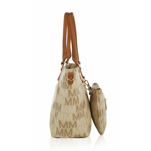 MKF Collection Karma M Signature Tote Crossbody Bag by Mia K.