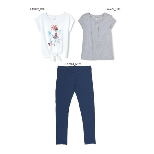 3-Pack French Toast Girls Summer Set - Party in the USA