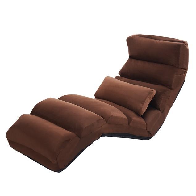 Costway Folding Lazy Sofa Lounge Chair