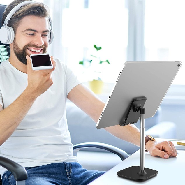 Aduro Universal Tablet & Phone Stand w/ Adjustable Height