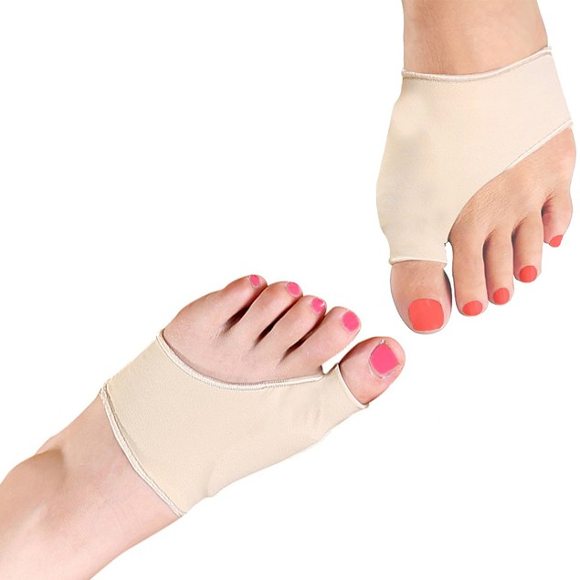 Bunion Protector and Detox Sleeve with Natural Gel