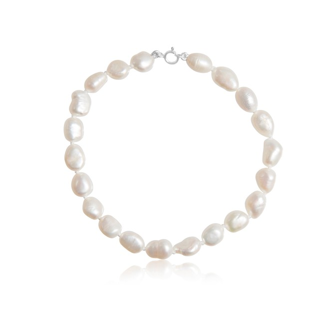 6mm Freshwater Cultured Baroque Pearl Bracelet