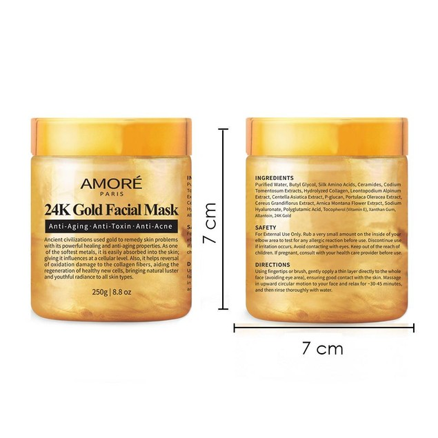 Amore Paris 24K Gold Facial Mask