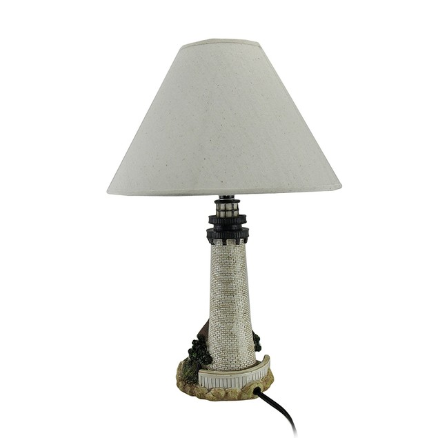 House On The Shore Decorative Lighthouse Table Lamp