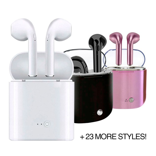Wireless Headphones & Charging Case - 26 Styles!