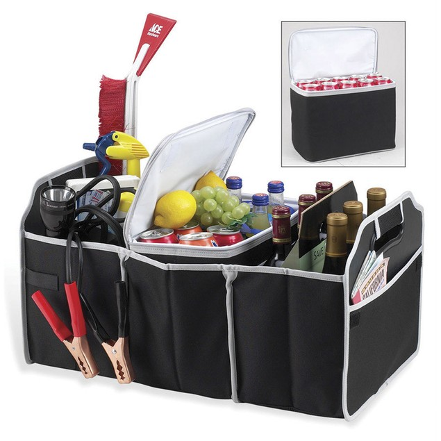 2-in-1 Collapsible Trunk Organizer and Cooler