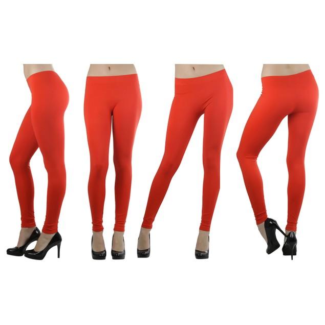 ToBeInStyle Women's Essential Seamless Ankle-Full Length Leggings