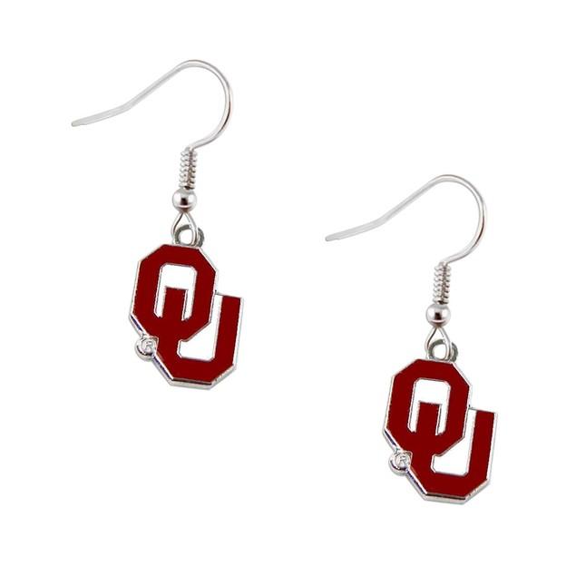NCAA Dangle Logo Earring Set Charm Gift