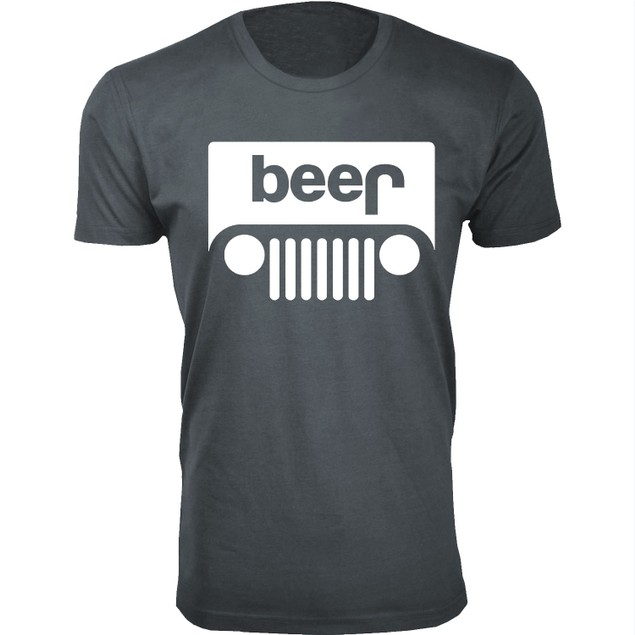 Men's Funny Beer Jeep T-Shirts