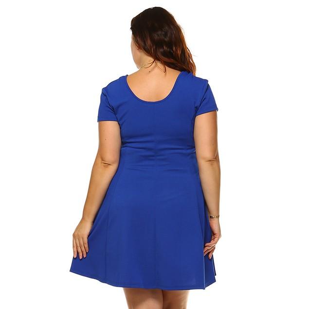 Women's Fun & Flirty Plus Size Cara Dress - 6 Colors