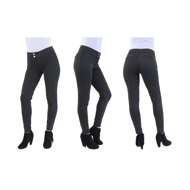 Womens Ponte Stretch Fit Legging Pants