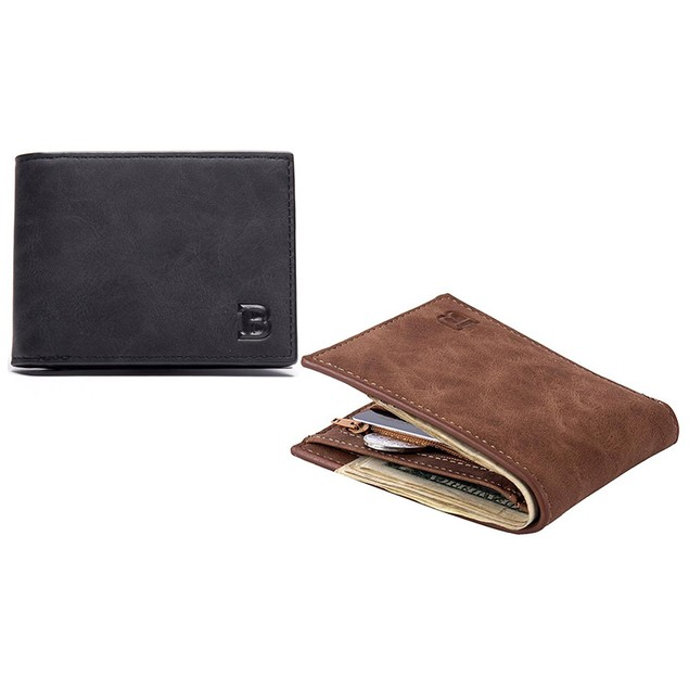Baborry Men's Faux-Leather Fashion Wallet
