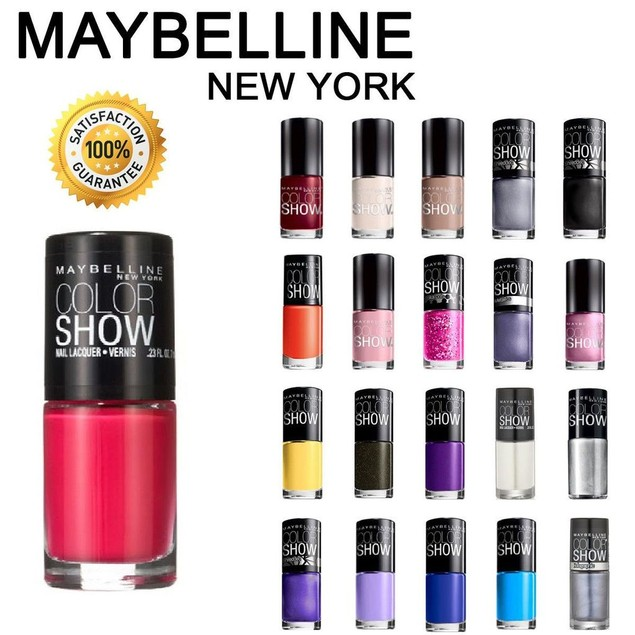 10-Pack Maybelline Color Show Nail Polish Set (Assorted Colors)