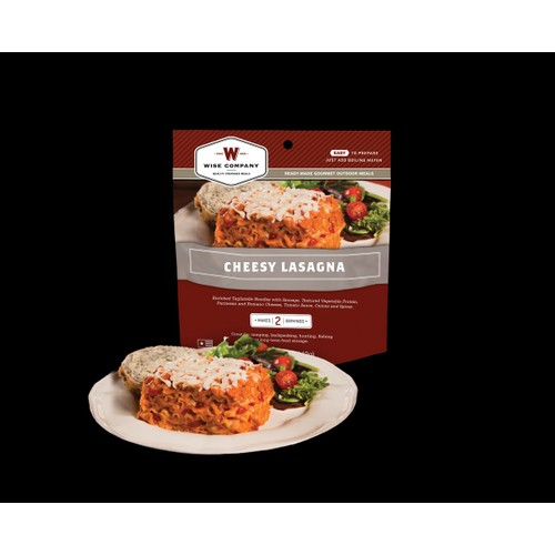 Wise Foods Outdoor Meals - 6-Pack Cheesy Lasagna